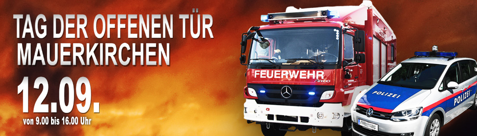 Tag der offenen Tür Feuerwehr