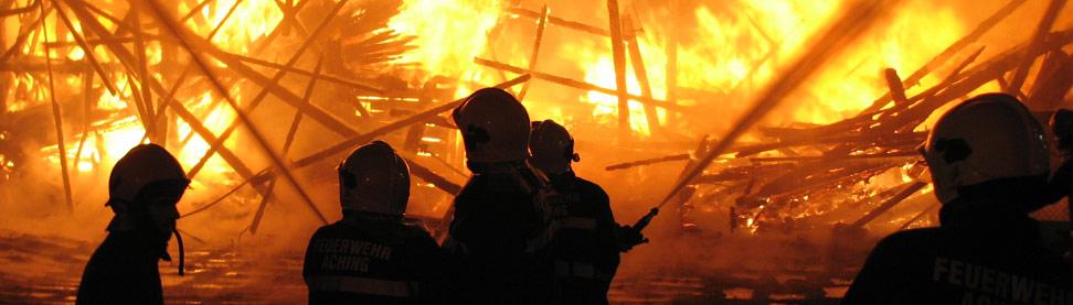 Brandeinsatz Feuerwehr Mauerkirchen
