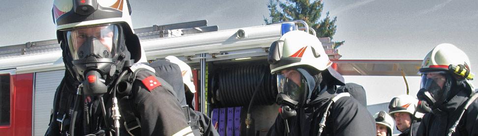 Atemschutztrupp Feuerwehr