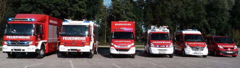 Feuerwehrfahrzeuge Mauerkirchen