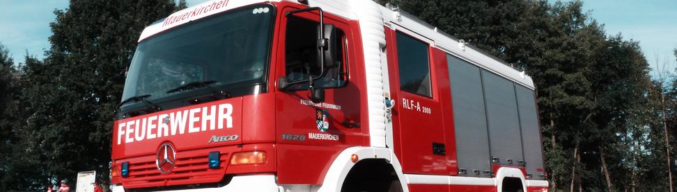 Rüstlöschfahrzeug Feuerwehr Mauerkirchen