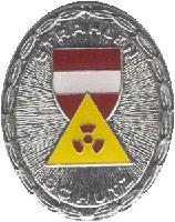 Strahlenschutz Leistungsabzeichen Silber